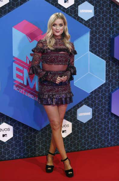 L'animatrice Laura Whitmore