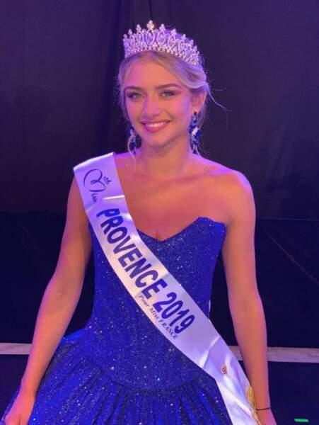 Lou Ruat a été sacrée Miss Provence 2019 le jeudi 26 juillet à Cogolin