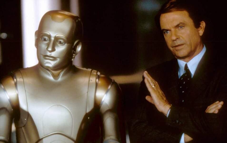 Robin Williams dans L'homme Bicentenaire (avec Sam Neill) en 1999