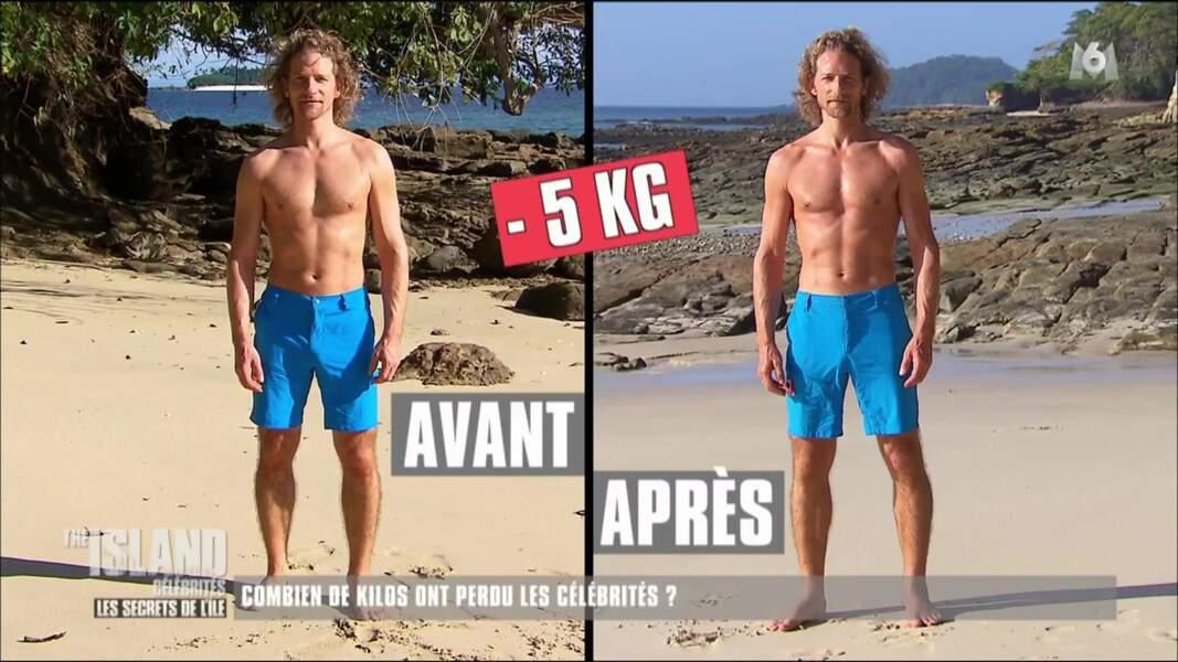 Gwendal Peizerat a perdu 5 kilos