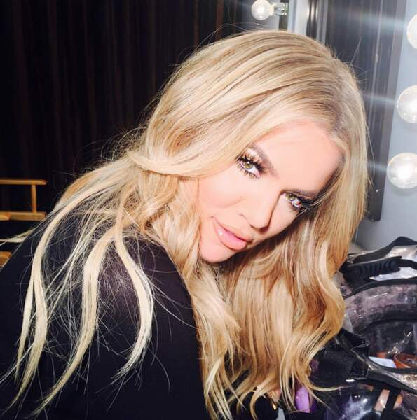 Scoop : Khloé Kardashian ressemble de plus en plus...