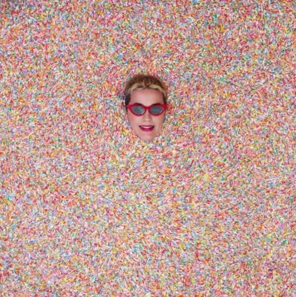 Salut ! C'est Katy Perry, en direct du Musée de la Glace à Los Angeles.