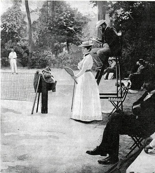 Kate Gillou a remporté Roland-Garros en 1904, 1905, 1906 et 1908.