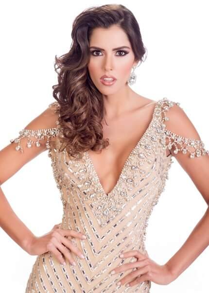 Paulina Vega, Miss Colombie 2014