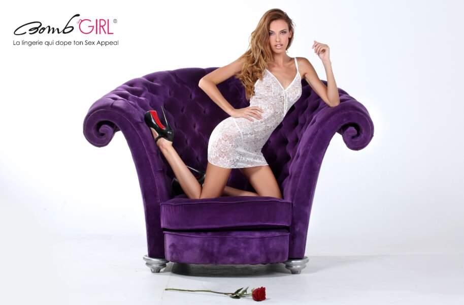 Vanessa Lawrens très sexy pour Bomb Girl