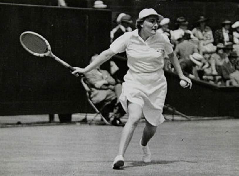 Six fois finaliste et vainqueur en 1938 et 1939, Simonne Mathieu a aujourd'hui un court à son nom