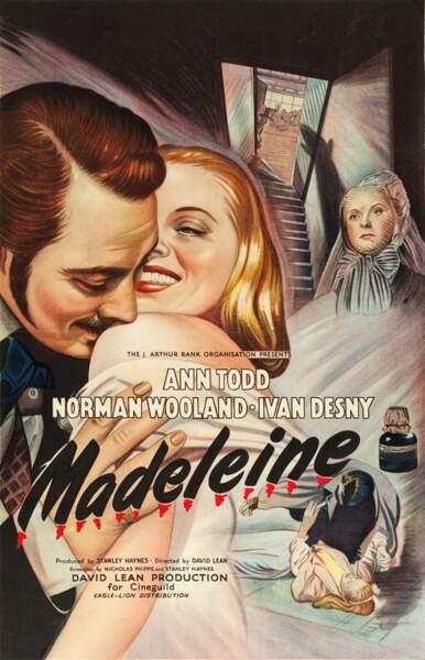 Madeleine, film dramatique de David Lean (1950).