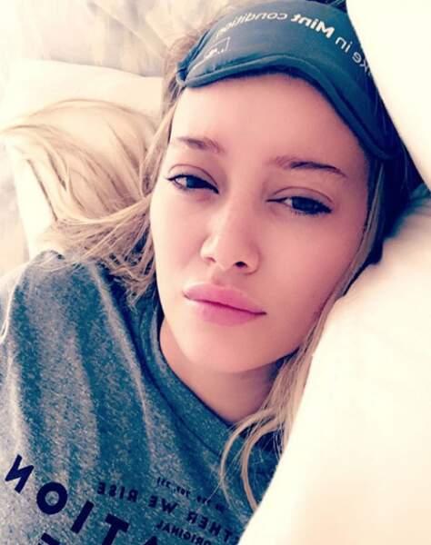 Même au lit elle a la classe