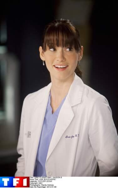 Dr. Lexie Grey (2007-2012) : jouée par Chyler Leigh, la demi-soeur de Meredith meurt en fin de saison 8