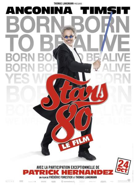 Patrick Hernandez participera à l'aventure Stars 80