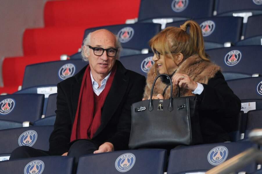 L'ex-footballeur argentin Carlos Bianchi, venu soutenir son ancien club