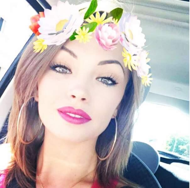 Marie a définitivement adopté les filtres Snapchat