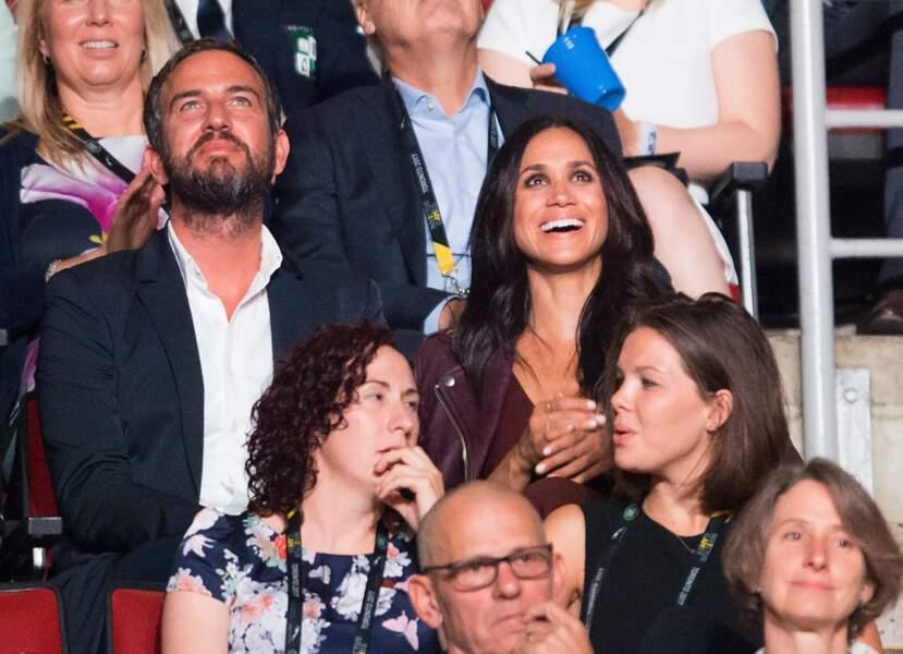 Et la petite amie du prince, Meghan Markle, était présente à la cérémonie d'ouverture