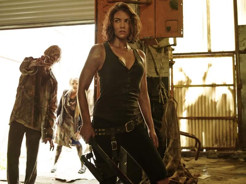 Lauren Cohan, alias Maggie Greene dans la série à succès d'AMC, débarque ces jours-ci sur grand écran