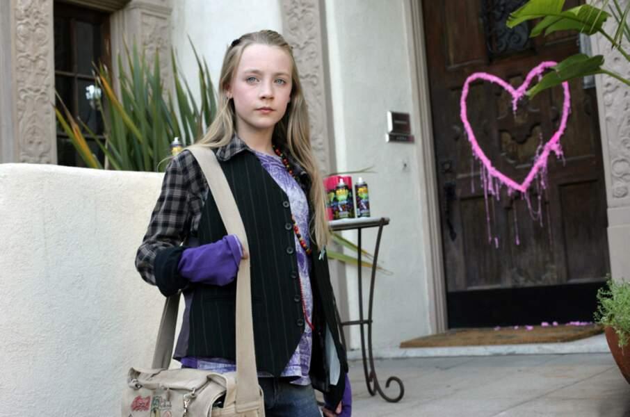 """Et déjà une belle carrière  ! Voici son premier film, """"Trop Jeune pour Elle"""". Saoirse a tout juste 12 ans !"""