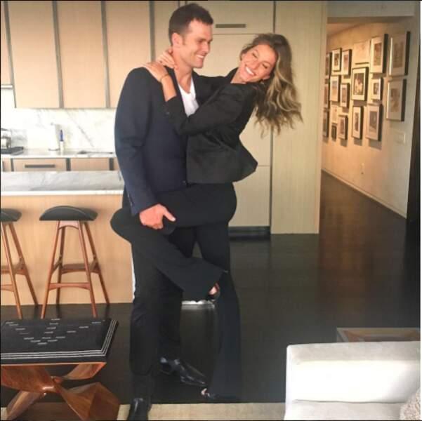 Tom Brady et Gisele Bündchen, c'est un peu le couple parfait...