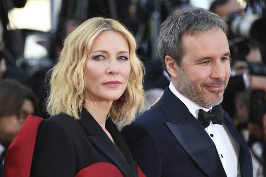 Cate Blanchett et Denis Villeneuve à la côture du Festival de Cannes