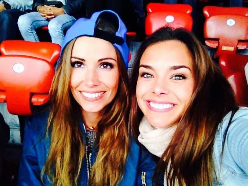 Alexandra Rosenfeld et Marine Lorphelin, supportrices de choc aux Championnats d'Europe d'athlétisme