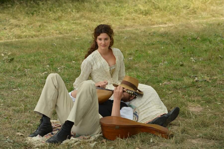 Dans Cézanne et moi, elle joue la femme de Zola (Guillaume Canet)