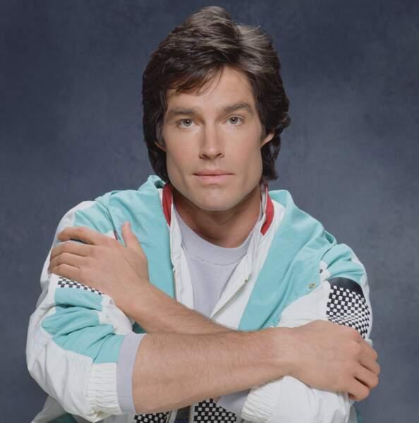 Eric et Stephanie ont eu 5 enfants, dont Ridge Forrester (Ron Moss), ici en 1989