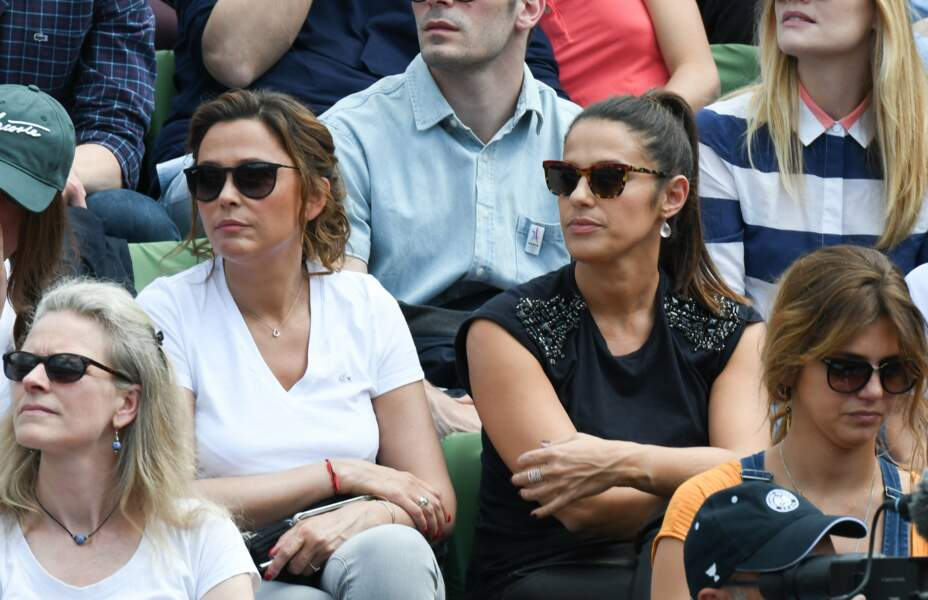 Copines de tennis : Sandrine Quétier et Élisa Tovati