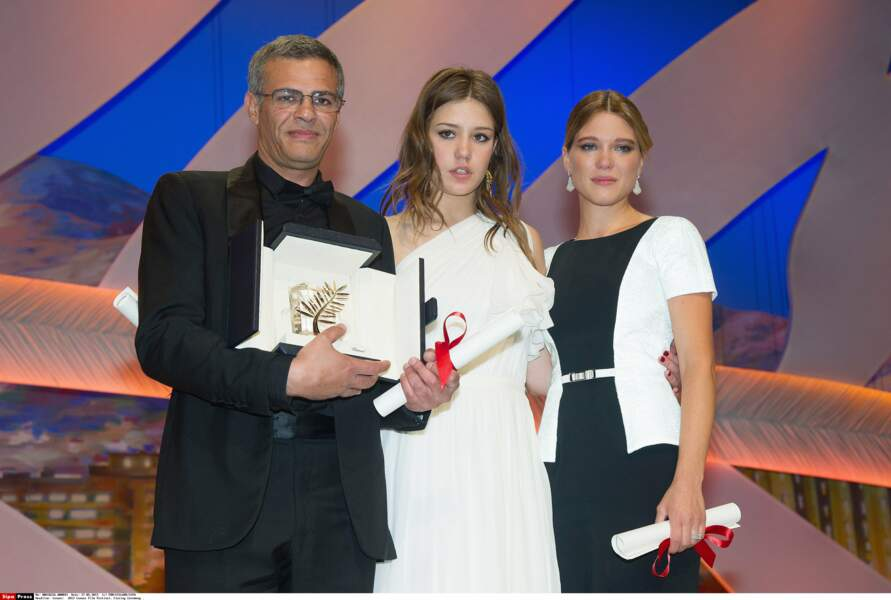 2013 : Palme d'Or pour Abdellatif Kechiche, réalisateur de La Vie d'Adèle, et ses deux actrices !