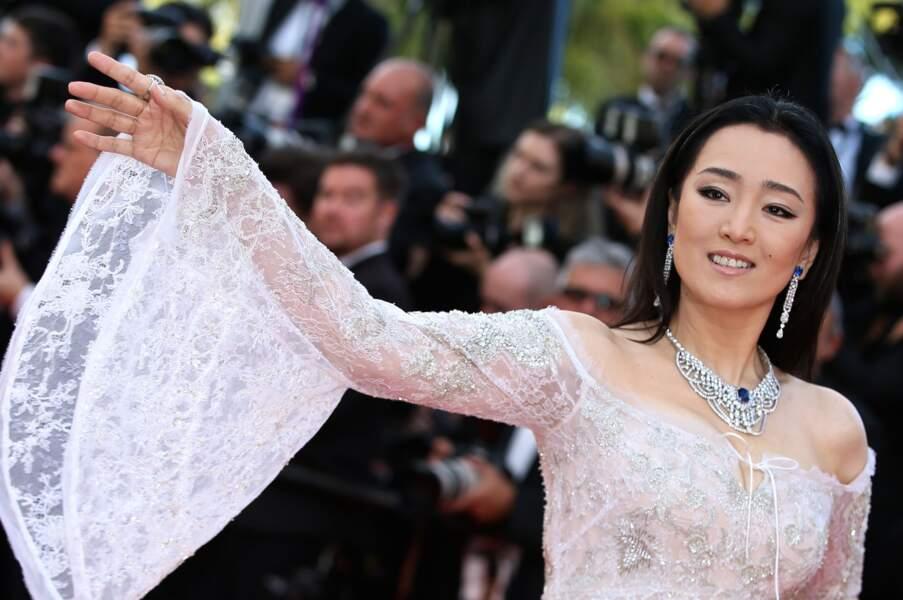 L'actrice Gong Li (53 ans).