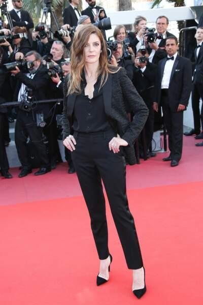 Chiara Mastroianni à la clôture du Festival de Cannes