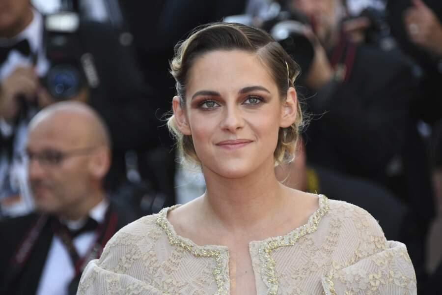 Kristen Stewart à la côture du Festival de Cannes