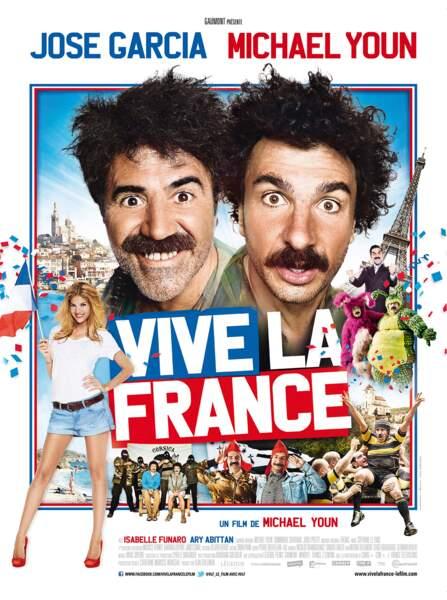 """Selon """"Vive la France"""", avec Michaël Youn et José Garcia..."""