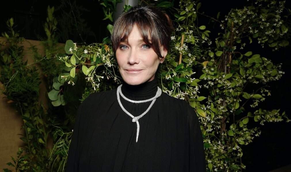 Carla Bruni soignée dans les buissons…