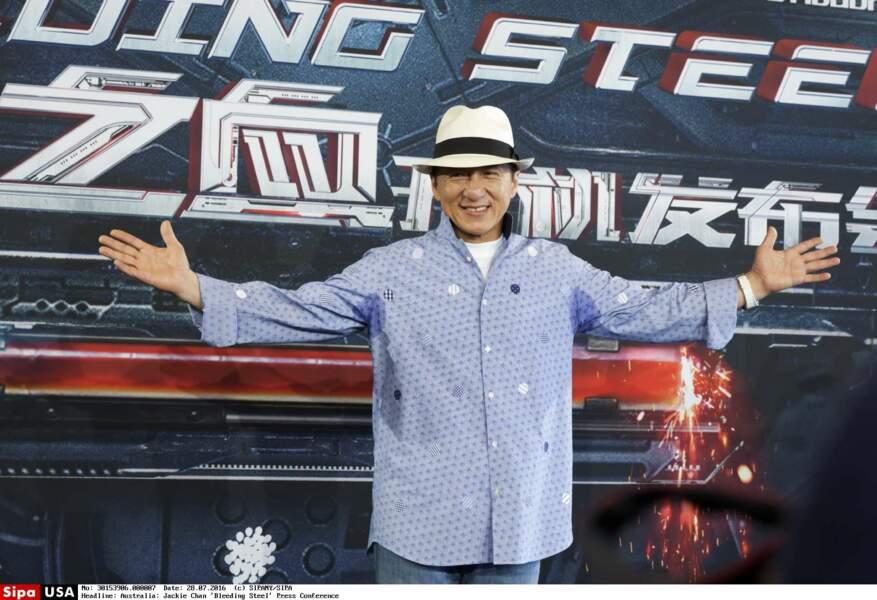 2. Jackie Chan avec 61 millions de $