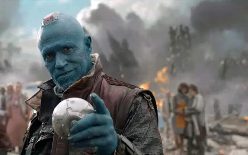 Et son interprète Michael Rooker s'est trouvé un nouveau maquillage pour jouer dans Les Gardiens de la Galaxie !