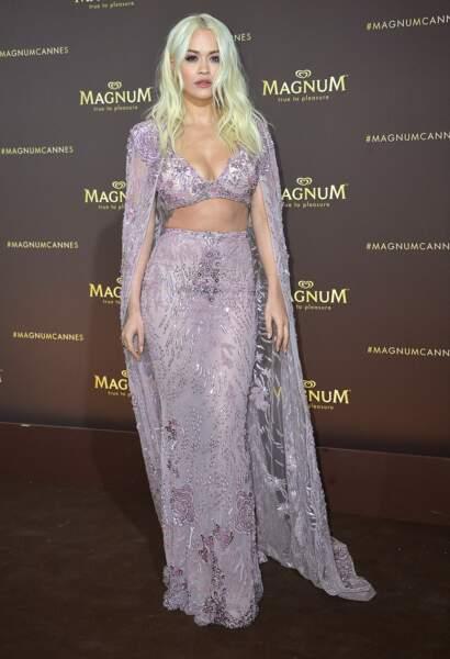La chanteuse et comédienne Rita Ora