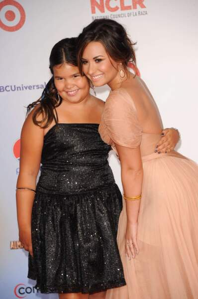 Incroyable mais vrai : Madison de la Garza (Juanita de Desperate Housewives) et Demi Lovato sont demi-soeurs.
