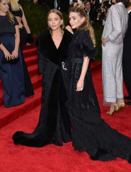 Les soeurs Olsen, pas d'humeur à faire la fête, ont littéralement plombé l'ambiance