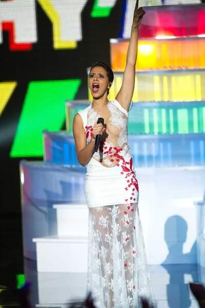 Shy'm aux NRJ Music Awards 2013