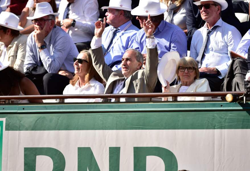 Jean Gachassin, le président de la Fédération française de tennis, est A FOND