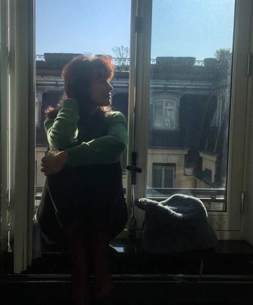 Sophie Marceau préfère, elle, le charme de Paris