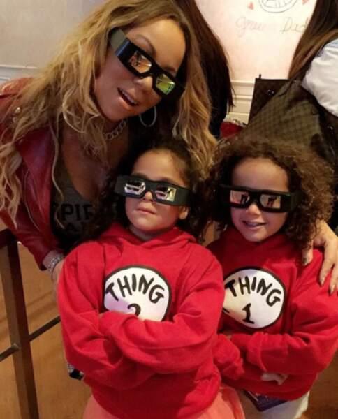 Tu as déjà vu Mariah Carey avec des lunettes 3D ? Maintenant c'est fait, et en famille.