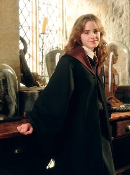 On la voit grandir à travers les films de la saga Harry Potter !