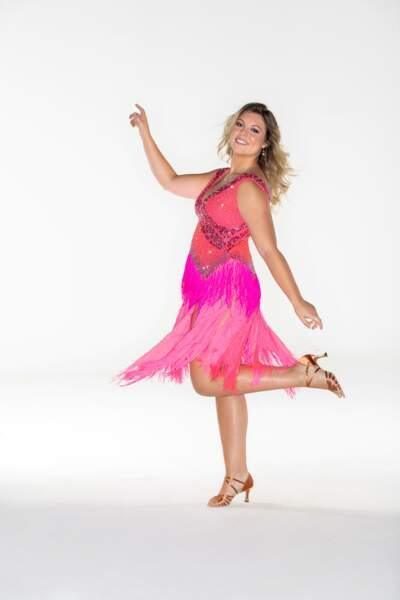 La comédienne Héloïse Martin esquisse déjà ses premiers pas de danse