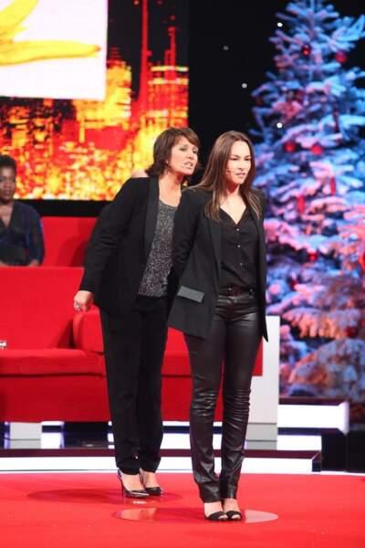 Carole Rousseau et Vanessa Demouy, atouts charme de la soirée