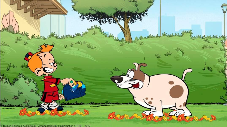 Le garçonnet et Vessie, le chien du prof de gym