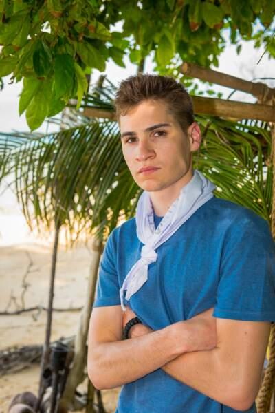 Marius a 21 ans et est étudiant