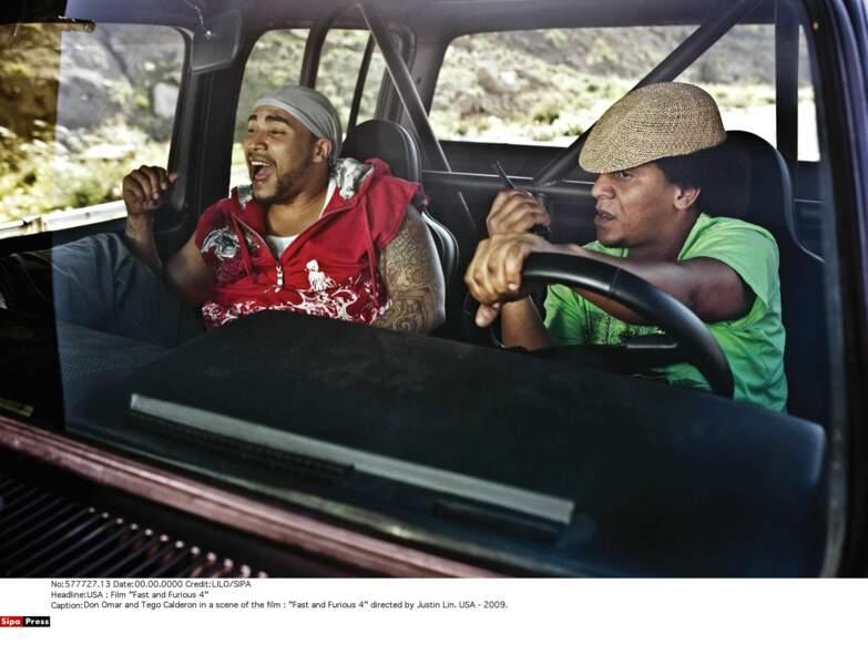 Don Omar est Rico Santos, tatoué et un look singulier, dans Fast & Furious 4 !