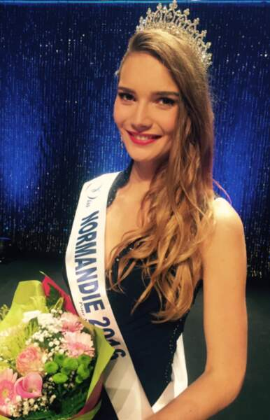 Esther Houdement est Miss Normandie