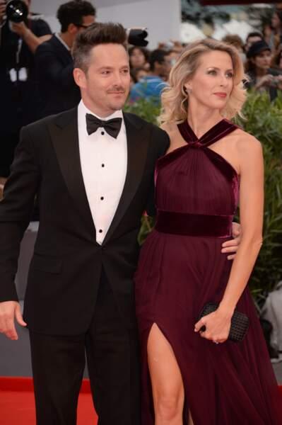 Scott Cooper, le réalisateur de Strictly Criminal (Black Mass), et son épouse Jocelyne