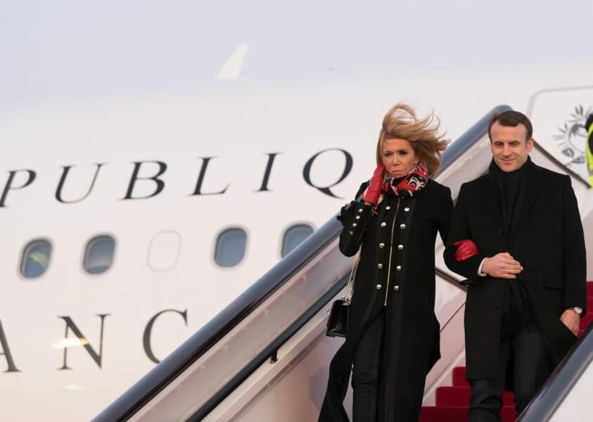 Le couple présidentiel est en visite officielle pour trois jours en Chine