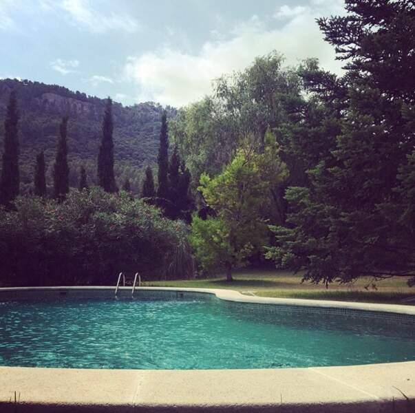 Et une dernière photo de la co-animatrice du Mag en direct de Majorque !